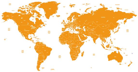 办事处地图