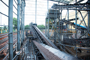 system sand production line