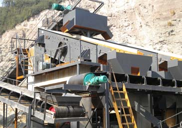 install the vibrating screen