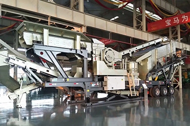 k3 portable crushing plant