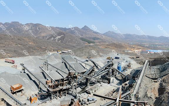 Дробление Базальта в строительной промышленности